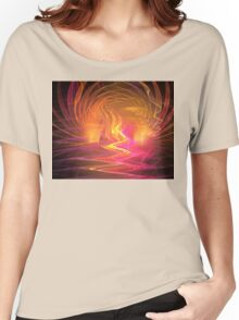 Solar Flares Women's Relaxed Fit T-Shirt