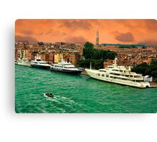 ✿◕‿◕✿  ❀◕‿◕❀ YACHTS IN VENICE ✿◕‿◕✿  ❀◕‿◕❀ Canvas Print