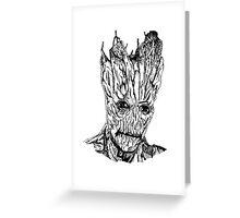 Groot Illustration Greeting Card