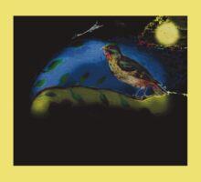 Bird in moonlight Baby Tee
