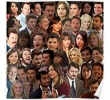 Parks and Recreation Collage Poster
