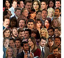 Parks and Recreation Collage Photographic Print
