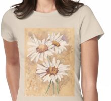 The urge to sketch and paint Womens Fitted T-Shirt