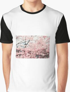 sakura trees Graphic T-Shirt
