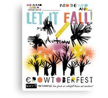 crowroberfest Canvas Print