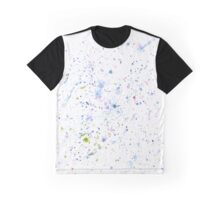Magnolia Abstract Watercolor Splatter Graphic T-Shirt