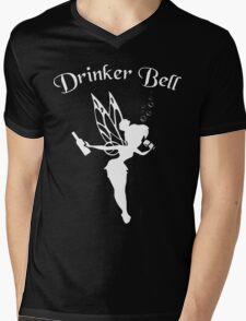 DrinkerBell Light Mens V-Neck T-Shirt