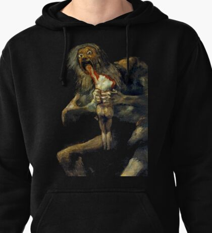 Saturn Devouring His Son Pullover Hoodie