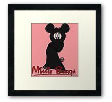 Minnie Burqa Framed Print