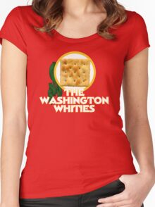 The Washington Whities Women's Fitted Scoop T-Shirt