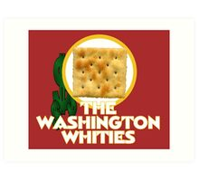 The Washington Whities Art Print