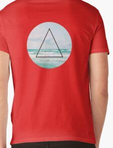 Waves Mens V-Neck T-Shirt