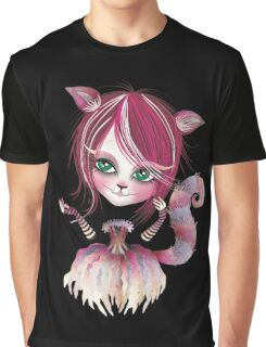 Cheshire Kitty Graphic T-Shirt