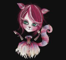 Cheshire Kitty One Piece - Long Sleeve