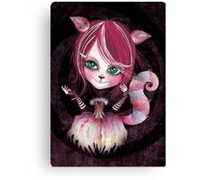 Cheshire Kitty Canvas Print