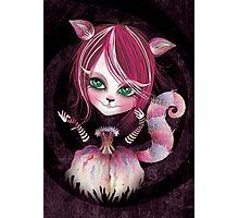 Cheshire Kitty Photographic Print