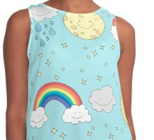 Over our sky  Contrast Tank