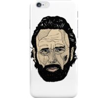 Rick Grimes iPhone Case/Skin