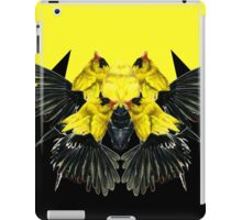 Birds black and yellow iPad Case/Skin
