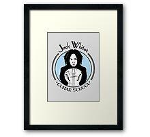 Jack White's Guitar School Framed Print