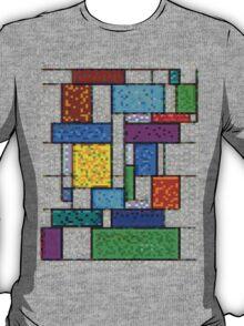 Mondrian Pixelate T-Shirt