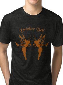 2 DrinkerBell Ogrange Tri-blend T-Shirt