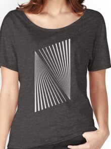 Abstract Lines Women's Relaxed Fit T-Shirt
