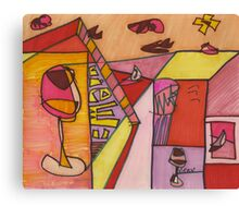 wine time (2014) Canvas Print