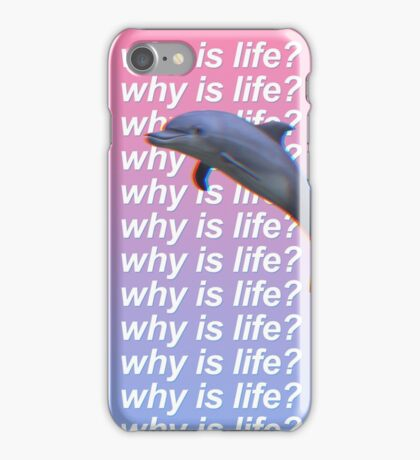 why is life? Phone Case iPhone Case/Skin