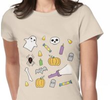 Tricks and Treats Womens Fitted T-Shirt