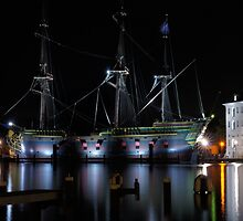 Dutch East Indiaman the Amsterdam by Lindie