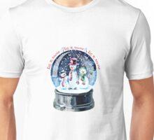 Let it Snow - Vintage Snowmen Unisex T-Shirt