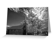 † ❤ † ❤ † ❤St. Andrews Church on Wolfe Island  Point Alexandria † ❤ † ❤ † ❤ Greeting Card