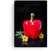 Pepper In the Spotlight  Canvas Print