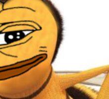 bee movie pepe Sticker
