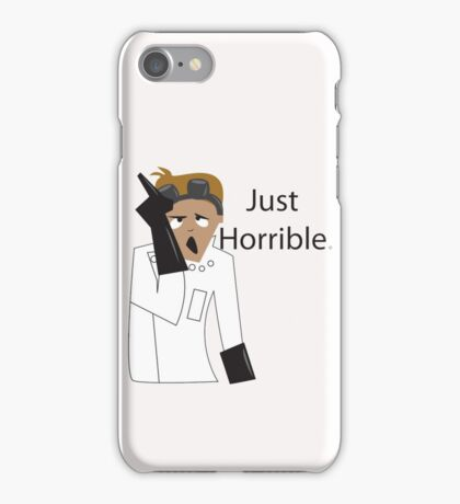 Just Horrible iPhone Case/Skin