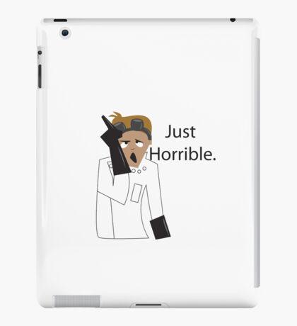 Just Horrible iPad Case/Skin