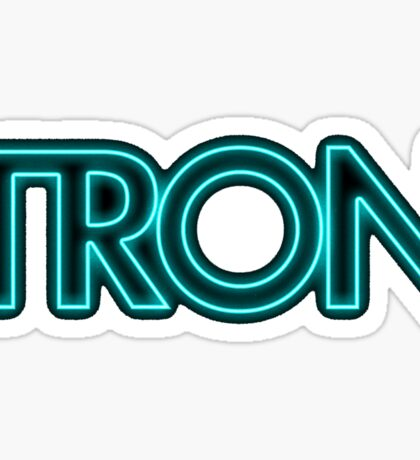 Tron Logo Sticker