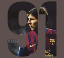 Lionel Messi 91 by Neil K