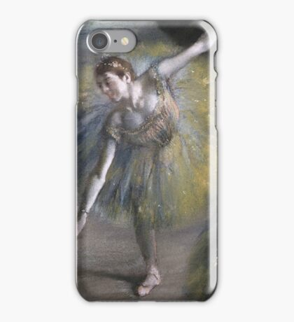 Edgar Degas - Dancer In Green iPhone Case/Skin
