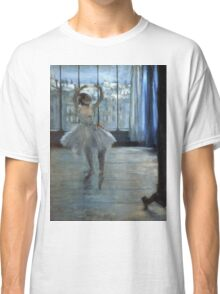 Edgar Degas - Dancer In Front Of A Window Classic T-Shirt