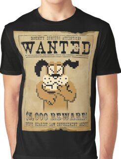 Duck Hunt Funny Games Graphic T-Shirt