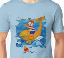 Fishing with Moby Dick Unisex T-Shirt