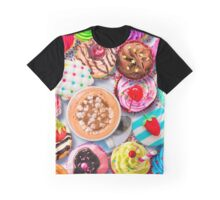 Cupcakes and Cocoa Graphic T-Shirt