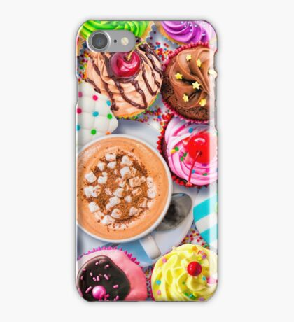 Cupcakes and Cocoa iPhone Case/Skin