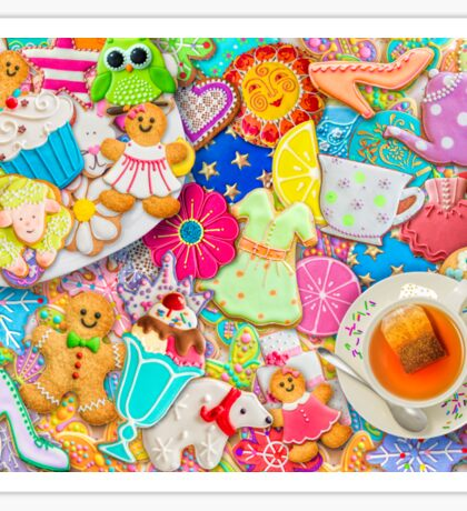Tea and Cookies Sticker