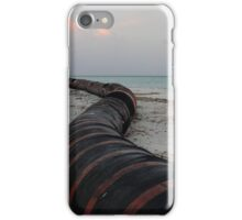 Sanding pipes iPhone Case/Skin