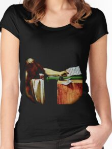 Deathconsciousness - The Death of Marat Women's Fitted Scoop T-Shirt