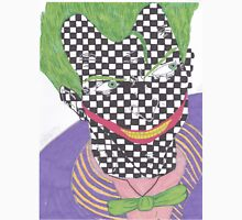 The Joker- Arkham City/ Checkered Unisex T-Shirt