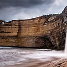 Gibson Steps Waterfalls Pano (Near) by hangingpixels